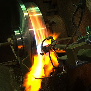 Flame-Hardening-Wheel-Tread